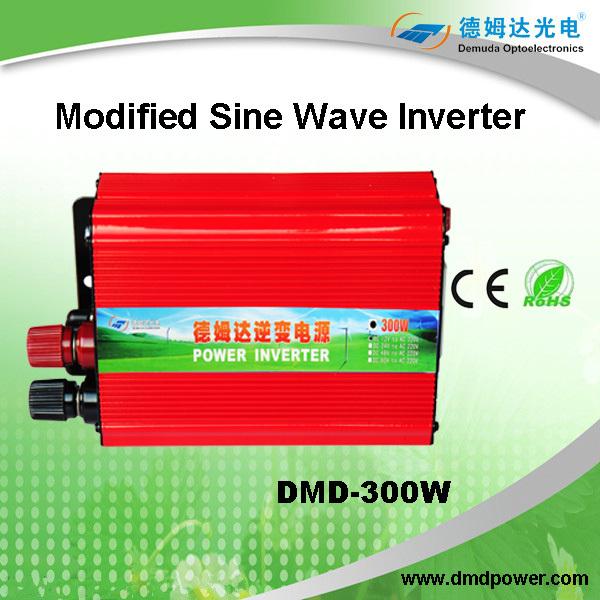 Demuda Full Power Modified Sine Wave Solar Power Inverter 300w DC 12v/24v/48v To AC 220v/230v/240v(China (Mainland))