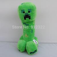"Jazwares Green JJ dolls Minecraft 7.5"" Creeper Plush toy NEW"