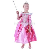 Baby girls Princess Aurora TUTU Dress/kids Christmas Party Cosplay Costume /Children fancy dress performance Costume