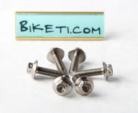 4pcs Titanium Ti6al4V banjo bolts. for motobike Titane Titanio Titan racing motocycle