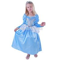 Retail Kids Cindy Princess Dresses/baby girls fancy dress/Children Cinderella Cosplay Costume/ party supplies