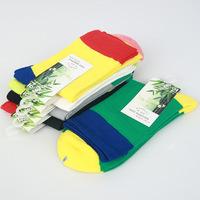 Boutique Bamboo Fiber Deodorant&Antibarcterial Men's Socks 2 Styles 5 pairs/lot