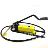 oil press power pack unit high pressure station tool manual pedal foot hydraulic pump
