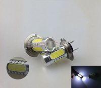 Hot Selling 2 pcs LED Lights Bulbs Light Lighting H7 COB 25W 12V-24V COB-H7 Car Front Fog Lamps  For Sale