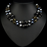 N-Z Luxurious Women Chain Necklace with High Quality Beads Jewelry for Elegant Lady with Individual Character JS-NZ0187
