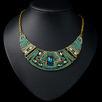 N-Z High Quality Vintage Pendant Necklace Multicolor Options Statement Jewelry for Women of Personality JS-NL01914