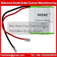 Cordless Home Phone Battery 2.4V 800mAh battery For Panasonic P305 Compatible