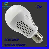 LED bulb lamp bulbs led lights E27 3W 5W 7W 9W 5730SMD Cold white/warm white AC220V 230V 240V Free shipping
