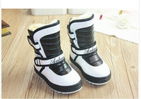 Retail winter warm Thick kids shoe Baby snow boots baby girls and boys lovely rabbit cotton shoes