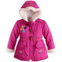 2014 new frozen cotton-padded clothes children wear winter coats Girls cotton-padded jacket Children down jacket frozen coat