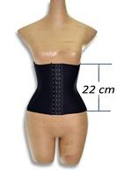 50Pcs/Lot    waist training corsets shaper black underbust corset steel waist cincher shaper belt body shapers for women