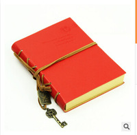 2014 Newest hot Gift Diary Book NoteBook Vintage Pirate Note Book Replaceable Gift Traveler book 8Color