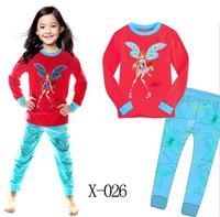 Hot Sale Classic Girls Cartoon Character Comic Print Pyjama Nightwear Loungewear Homedress