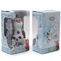 Animated Cartoon Frozen Olaf Piggy Bank Olaf Music Saving Box Kids Toys Gift Free Shipping