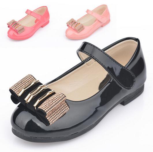 2014 European fashion summer princess girls shoes,Lovely diamond bow children sandals,High quality kids shoes,children shoes(China (Mainland))
