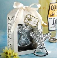 2014 new bridal shower favor angel bottle opener wedding favor party supplies christening favors guest keepsakes gifts