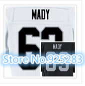 New! Cheap Stitched Custom American Football Jersey #63 Lamar Mady Jersey Men's Football Jersey.Free Shipping