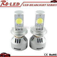 Hot G4 Auto LED Headlight Conversion Kit 3200LM CREE Xlamp MT-G2 LED Bulbs H4 H13 9004 9007 Hi/Lo White