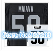 New! Cheap Stitched Custom American Football Jersey #50 Kaluka Maiava Jersey Men's Football Jersey.Free Shipping