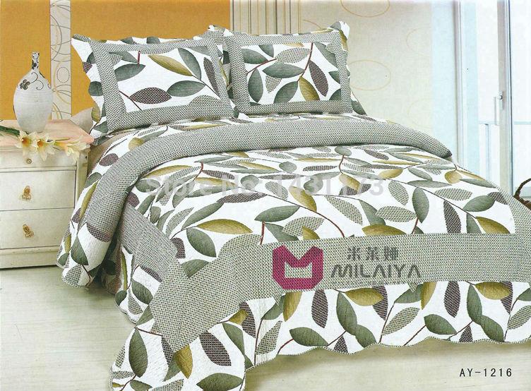 [ ay1216 ] reativa impressão 3Pcs cama conjuntos de luxo incluem capa de edredão lençol fronha ar condicionado quilt Frete grátis(China (Mainland))