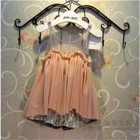 baby children's clothing wholesale fashion summer dresses girls ivory lace dress
