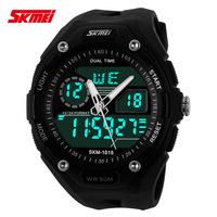 2014 New SKMEI Brand Men LED Digital Unisex Military Watch Wristwatch Dress Sports Wrist Watches Fashion Outdoor Wristwatches