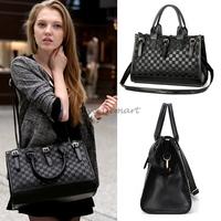 Fashion Hot Hobo Vintage Retro Black Color PU Leather Women Handbag Shoulder Tote Bag