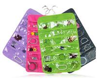Home storage organization square European fashion two-sided accessories decorations oraganizor hanging bag wardrobe rack
