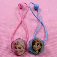 cheap wholesale!!! 20pcs/ lot kid's children gift frozen anna&elsa elastic hairband accessories