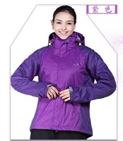new women autumn spring jackets outdoor sports coats lady waterproof windbreaker camping picnic hiking skiing free shipping A+++