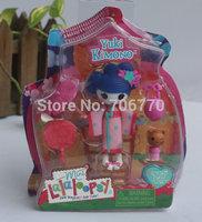 IN HAND! !with box MGA STYLES LALALOOPSY GRIRLS DOLLS NIP ~Yuki Kimono~~ mini button eyes Figures FREE SHIP