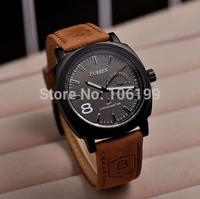 original CURREN 8139 Men's Wristwatch Leather Strap water resistant Sports Watch Relogio Hours Quartz Fashion Casual Watch