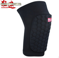 outdoor sport  anticolliion knee brace protect free shipping knee guard support hexagon honeycombed short type knee pads