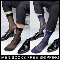Men's Sheer Dress Socks Gentlemen At Play Men Sexy Suit Socks Formal sock SM Black/Navy Free shipping