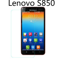High Quality 9H Nanometer Anti-Explosion Tempered Glass Screen Protector Film For Lenovo S850 + Retail Packaging