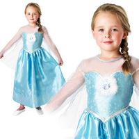2014 new girls princess dress/Beautiful frozen costume/Princess Elsa's dress with snowflake