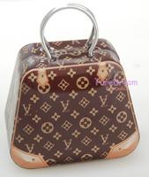 2014 New Iland LV Metal Handbag Trunk Box for 1/6 BJD J-Doll Pullip ken Dolls