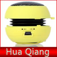 50pcs Portable pocket Mini Hamburger Speaker for iPhone iPad iPod Laptop PC MP3 Audio Amplifier mini speakers for phone tablet