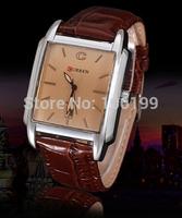 2014 new arrival Original CURREN 8097 Men's Wristwatch Leather Strap water resistant  Quartz Fashion Casual Watch On sale