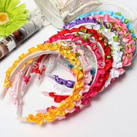 Colorful Cute Girls Fair Rose Floral Crown Bright-Colored Head Band Bridal Wedding
