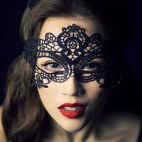 Elegant Sexy Eye Mask Stunning Venetian Masquerade Party Opera Fancy Black 95692