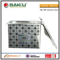 Free shipping  for 110v or 220v stainless steel digital ultrasonic cleaner BK-3050