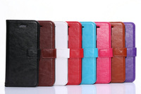 New Arrival Luxury Fashion Business Credit Card Slots Real Leather Case Cover For Apple Iphone 6 4.7'' Inch Free Shipping