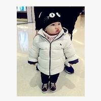 baby girls cotton padded jacket boy winter coat infant kids jacket baby girl winter coat baby boy winter animal print jacket