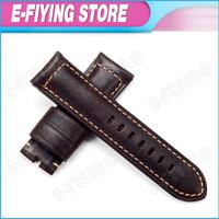 watch band 24mm Genuine Leather watch strap 24 mm Handmade watchband PAM Assolutamente watch bracelet for  PANERAI Luminor