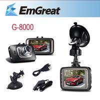 Ambarella G8000 Car DVR+8G SD Card Mini Camcoder Camera Para Carro Car DVR Camera De Carro 170 Degree View G-sensor Night Vision