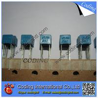 100pcs/lot bule color Capacitor 154J 150nF 100V  154J/100V P=5mm Correction Capacitor