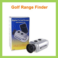 50pcs 7X18 Golf electronic rangefinder Golf monocular range finder AD-964 Golf electronic distance meter