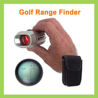 1pcs 7X  Laser Golf Range Finder Scope Rangefinder Yards Measure Distance Meter Scope