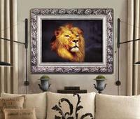 "Wall Home Decoration Cross Stitch 3D Precision Printing ""Lion King"" Cross-Stitch Kit , DIY Cross Stitch Sets,Embroide ry Ki t"
